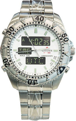 Citizen Watch Bracelet Silver Tones Stainless Steel Part # 59-J0422
