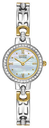 Citizen Watch Bracelet Two Tone Stainless Steel Part # 59-S00769