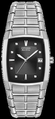 Citizen Watch Bracelet Silver Tone Stainless Steel Part # 59-S03112