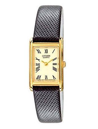 Citizen Watch Strap Black Leather 20 MM Part # 59-S50286