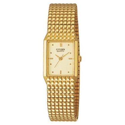 Citizen Watch Bracelet Gold Tone Stainless Steel Expansion Part # 59-S02556