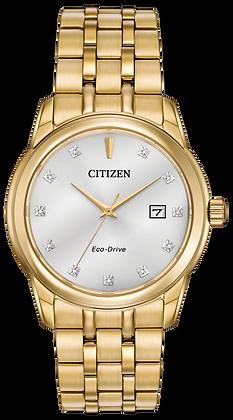 Citizen Watch Bracelet Gold Tone Stainless Steel Part # 59-R00416