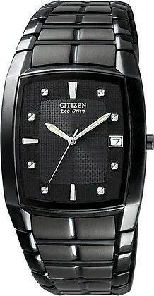 Citizen Watch Bracelet Black Ion Plated Stainless Steel Part # 59-S03111