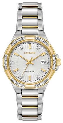 Citizen Watch Bracelet Two Tone Stainless Steel Part # 59-S06950