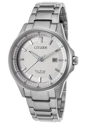 Citizen Watch Bracelet Silver Tone Super Titanium Part # 59-R00371