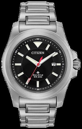 Citizen Watch Bracelet Silver Tone Stainless Steel Part # 59-S07228