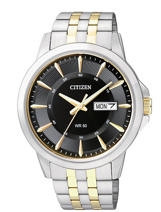 Citizen watch Bracelet Two Tone Stainless Steel Part # 59-BF2018-52E