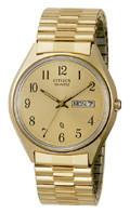 Citizen Watch Bracelet Yellow Tone Stainless Steel Part # 59-74002