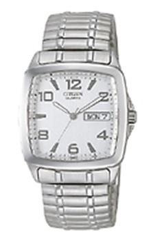 Citizen watch Bracelet Silver Tone Stainless Steel Part # 59-S00897