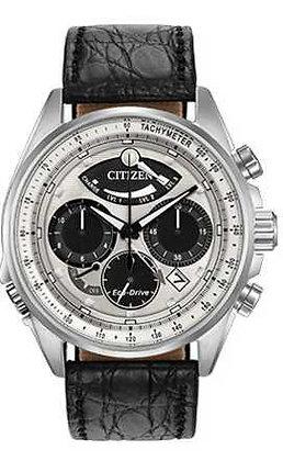 Citizen Watch Crocodile Strap Black Leather Part # 59-S53490