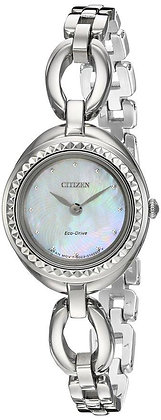 Citizen Watch Band Silver Tone Stainless Steel Part # 59-S06577