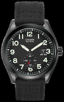 Citizen Watch Band Black Nylon 22 MM Part # 59-S52400