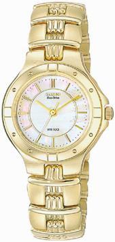 Citizen Watch Bracelet Gold Tone Stainless Steel Part # 59-H0432