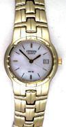 Citizen Watch Bracelet Gold Tone Stainless Steel Part # 59-S01951