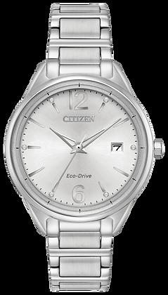 Citizen Watch Bracelet Silver Tone Stainless Steel Part # 59-S06959
