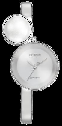 Citizen Watch Bracelet Silver Tone Stainless Steel part # 59-S06614
