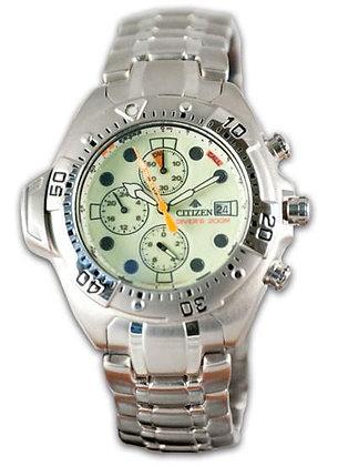 Citizen Watch Bracelet Silver Tone Stainless Steel Part # 59-H0743