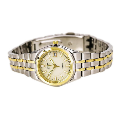 Citizen Watch Bracelet Two Tone Stainless Steel Part # 59-S04503