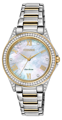 Citizen watch Bracelet Two Tone Stainless Steel Part # 59-S05909