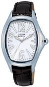 Citizen Watch Band Black Leather 14MM Part # 59-S50389
