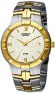 Citizen Watch Bracelet Two Tone Stainless Steel Part # 59-S05115