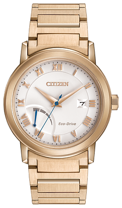 Citizen Watch Bracelet Rose Gold Tone Stainless Steel Part # 59-S06664