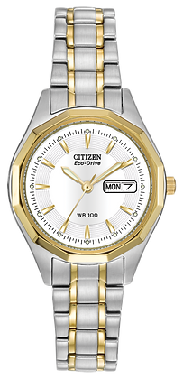 Citizen Watch Bracelet Two Tone Stainless Steel Part # 59-S03396