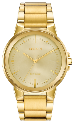 Citizen Watch Bracelet Gold Tone Stainless Steel Part # 59-R00531