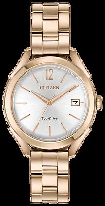 Citizen Watch Bracelet Rose Gold Stainless Steel Part # 59-S07115