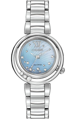 Citizen Watch Bracelet Silver Tone Stainless Steel Part # 59-S05845