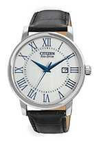 Citizen Watch Strap Black Leather 20 MM Specialty Part # 59-S52626