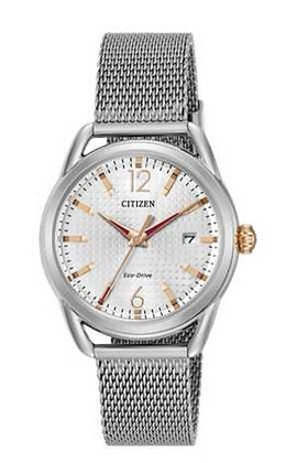 Citizen Watch Milanese Mesh Silver Tone Stainless Steel Band Part #59-S06812