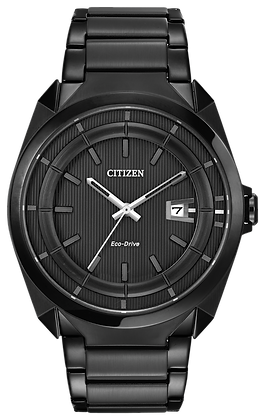 Citizen Watch Bracelet Black Ion Plated Stainless Steel Part # 59-S04767