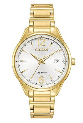 Citizen Watch Bracelet Gold Tone Stainless Steel Part # 59-S06986