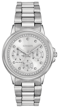 Citizen Watch Bracelet Silver Tone Stainless Steel Part # 59-R00410