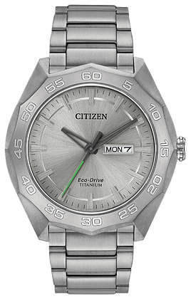 Citizen Watch Bracelet Silver Tone Titanium Part # 59-R00403