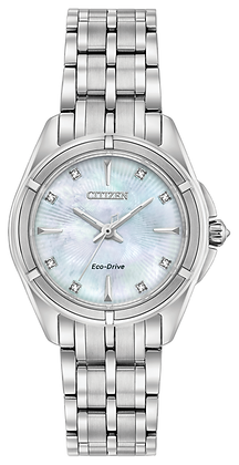 Citizen Watch Bracelet Silver Tone Stainless Steel Part # 59-S05773
