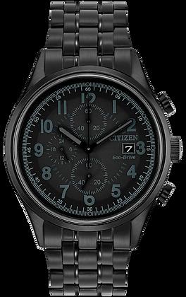 Citizen Watch Bracelet Black Tone Stainless Steel Part # 59-R00446
