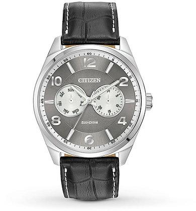 Citizen Watch Strap Black leather Part # 59-S52920