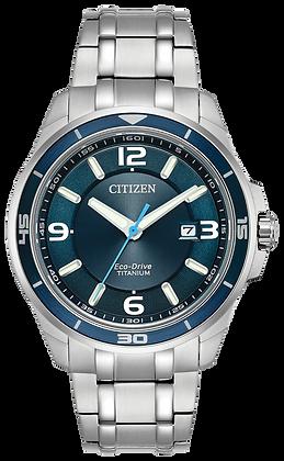 Citizen Watch Bracelet Silver Tone Titanium Part # 59-R00453