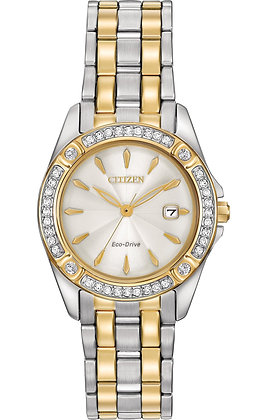 Citizen Watch Bracelet Two Tone Stainless Steel Part # 59-S06569