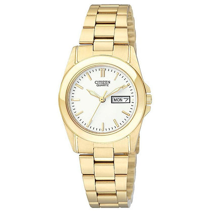 Citizen Watch Bracelet Gold Tone Stainless Steel Part # 59-S04166