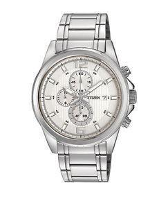 Citizen Watch Bracelet Silver Tone Stainless Steel Part # 59-AN3551-52A