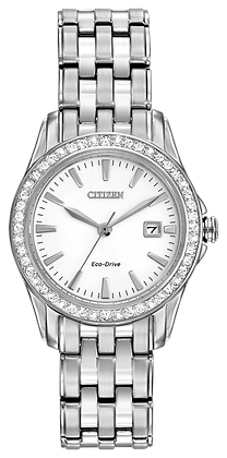 Citizen Watch Bracelet  Silver Tone Stainless Steel Part # 59-S05890