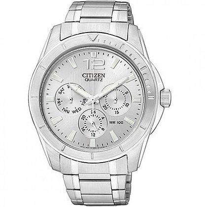 Citizen Watch Bracelet Silver Tone Stainless Steel Part # 59-S04599
