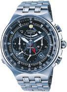 Citizen Watch Bracelet Silver Tone Titanium Part # 59-S02070