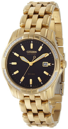 Citizen Watch Bracelet Gold Tone Stainless Steel Part # 59-S04044