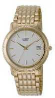 Citizen Watch Bracelet Gold Tone Stainless Steel Part # 59-K0388