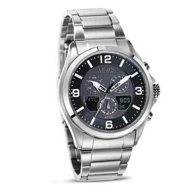 Citizen Watch Bracelet Silver Tone Stainless Steel Part # 59-S04975