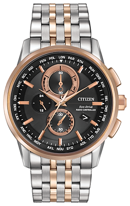 Citizen Watch Bracelet Rose Gold Two Tone Stainless Steel Part # 59-S06226